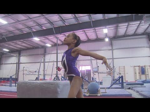 The next Gabby Douglas? 8-year-old prodigy shows Olympic potential