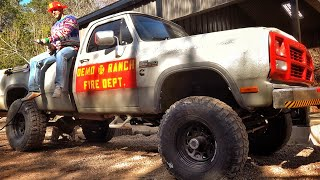 I Built a Demo Ranch Fire Truck!!! Meet Chief!!!