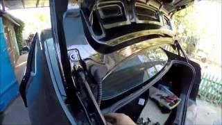 Не открывается багажник Форд Мондео 2