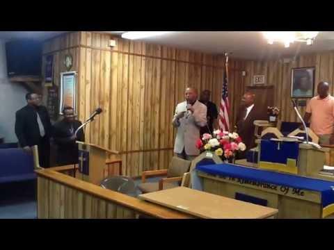 PASTOR BRUCE COHEN @ ZION TEMPLE FIRST BORN CHURCH