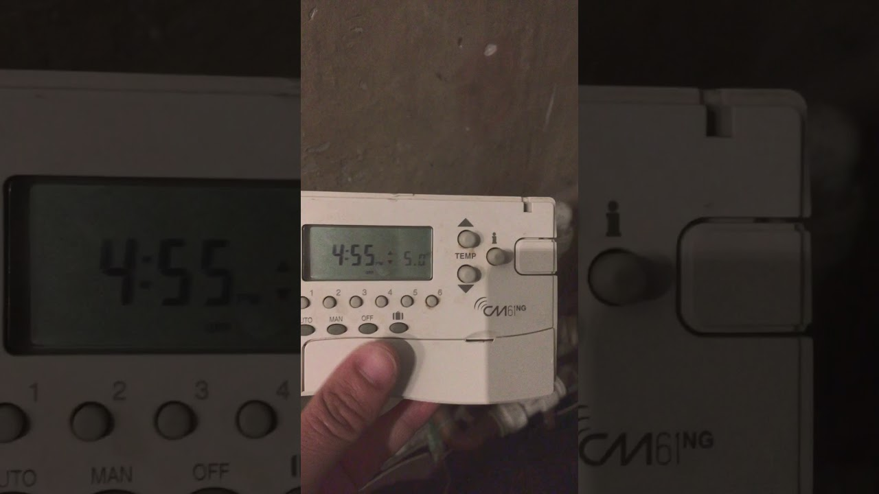 how to bind honeywell cm61ng to the hc60ng youtube rh youtube com honeywell cm61 user guide Honeywell Thermostat Operating Manual