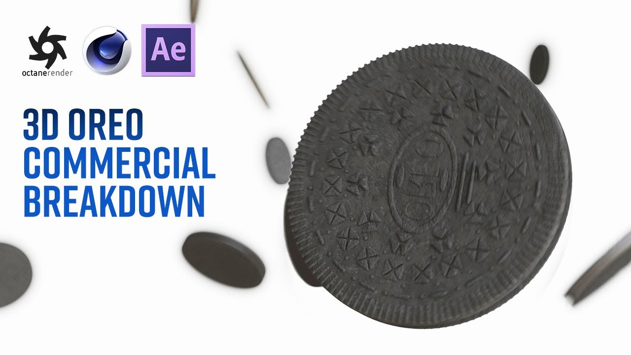 Oreo Commercial in RealFlow, Cinema 4D, Octane #tutorialtuesday