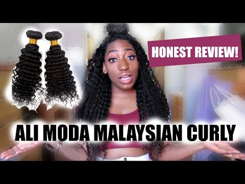 ALI MODA MALAYSIAN CURLY HAIR HONEST REVIEW (Aliexpress)