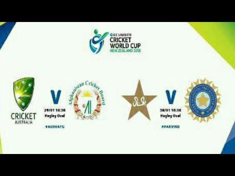 Under 19 cricket world cup semi final schedule