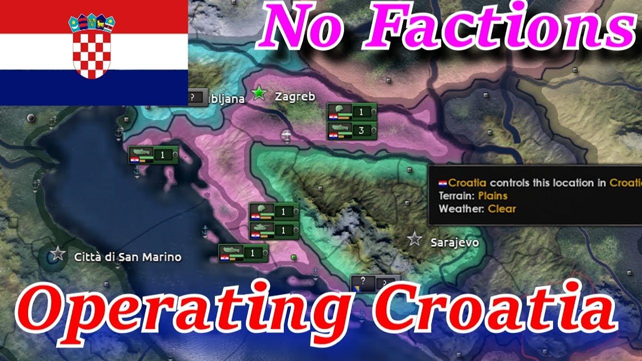Operating Croatia! - Hoi 4 Balkans