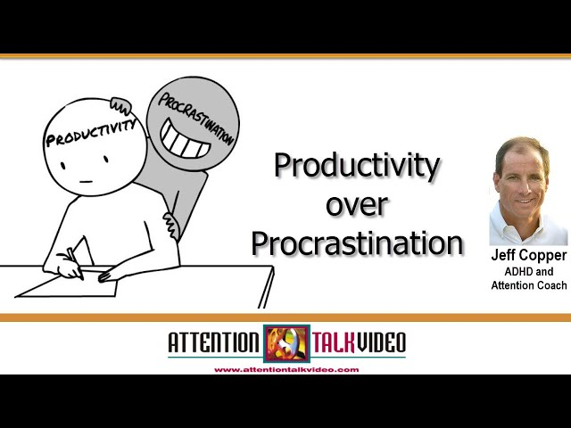 ADHD: Is Productivity the Reason You Procrastinate?