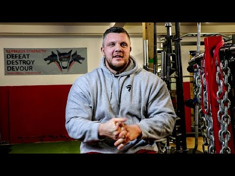 """Britain's Strongest Man 2019 post interview with Luke """"The Highland Oak"""" Stoltman"""