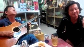 Liên khúc guitar thùng - căn nhà màu tím