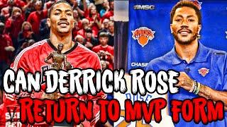 Can Derrick Rose Return To MVP FORM In The 2017 NBA Season?