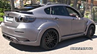 Hamann BMW X6M Tycoon EVO Full Accelerations and Revs!