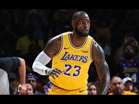 30e6fb2a28c LeBron James  Lakers Debut