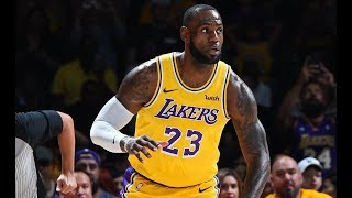 Check out all of lebron james' highlights from his first game donning the purple and gold as a member los angeles lakerssubscribe to nba: http://b...