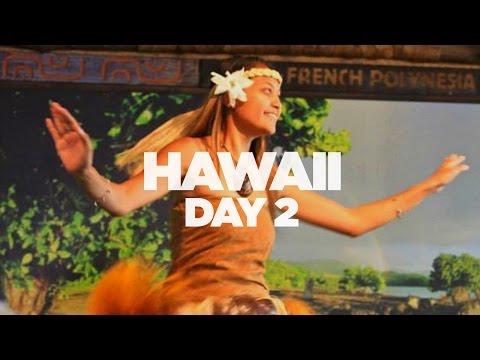 Hawaii Vlog 2015: Day 2 - Polynesian Cultural Center