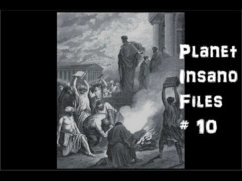 Planet Insano Files #10: The Burning Times, Hollow-wood vs Reality, Texas Students in their Sights