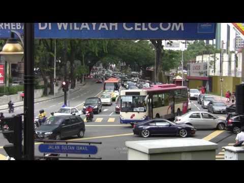 Sounds of Kuala Lumpur streets, Malaysia