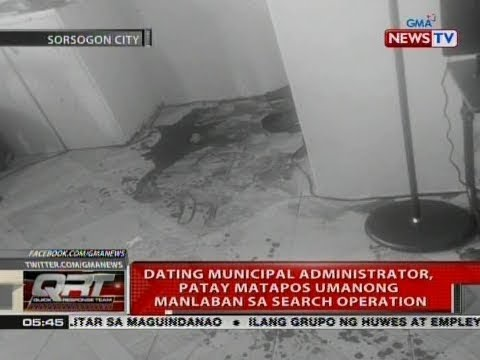 QRT: Dating municipal administrator, patay matapos umanong manlaban sa search operation