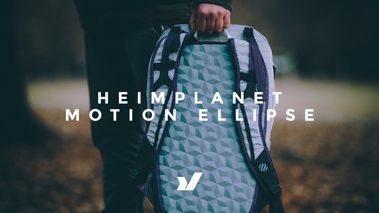 7704e65a2c The Heimplanet Motion Ellipse Backpack - YouTube