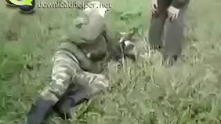 Армия России (прикол/обучение стрельбе) ОСТОРЖНО МАТ!!!