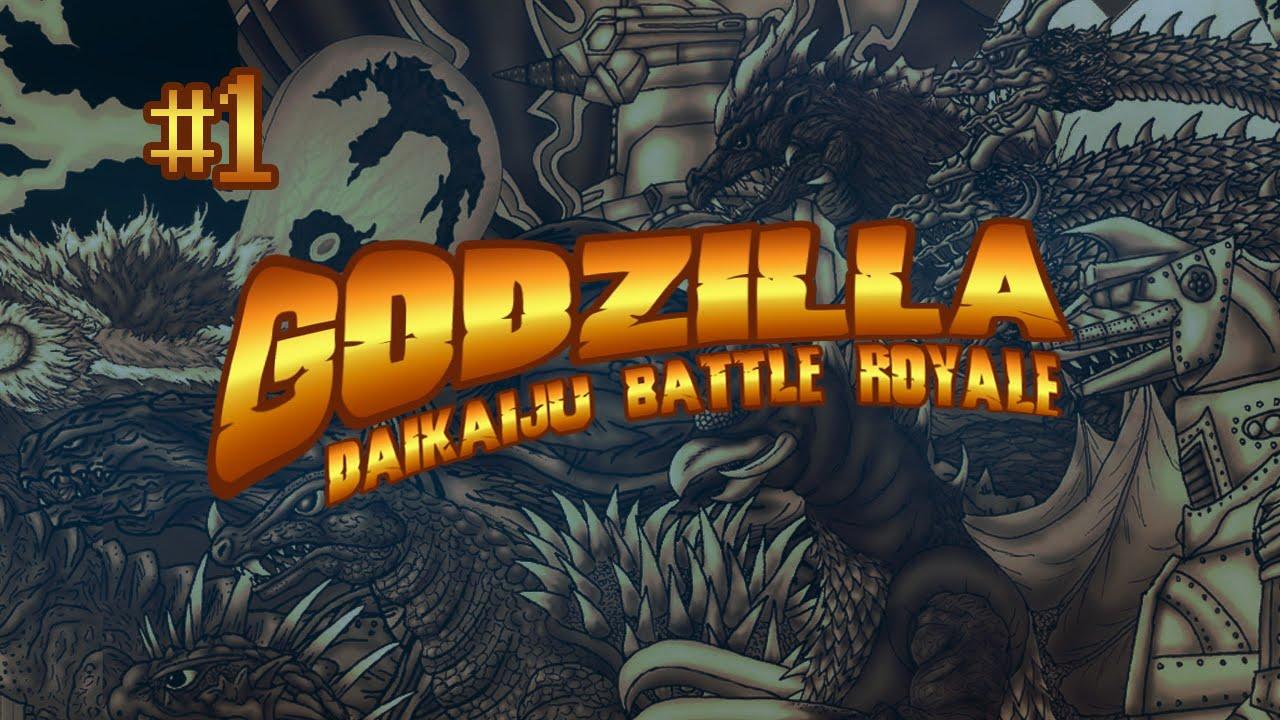 part 01 arcade godzilla 1964 godzilla daikaiju battle royale