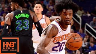 Dallas Mavericks vs Phoenix Suns Full Game Highlights / Jan 31 / 2017-18 NBA Season