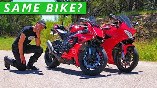 Can Beginner Riders Spot The Difference? (Superbike vs Sportbike)