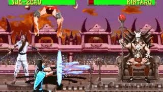 Mortal Kombat II arcade revision 2.1 Gameplay with Sub-Zero thumbnail