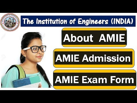 बिना COLLEGE गए ENGINEERING DEGREE करे | The Institution of Engineers [AMIE] |