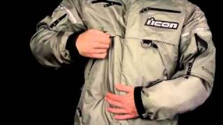 ICON PATROL Jacket Pant- All Weather Riding Gear Water Proof Motorcycle