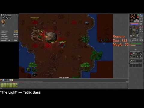 Tibia 300+ Rp compare Master Umbral Bow over Warsinger with Crit and Mana leech over SMP