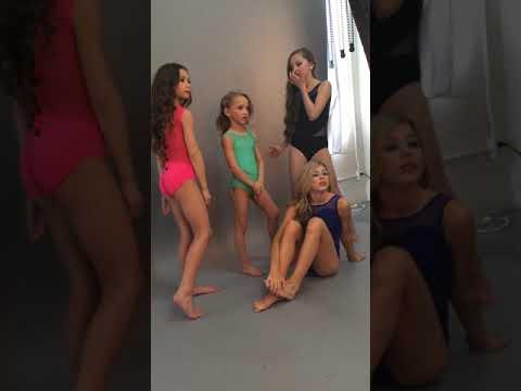 Oh La La Dance Wear Photo Shoot In LA With Lilly K! Dance Moms