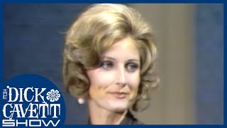 Jill Ireland on Dealing With Charles Bronson's Temper | The Dick Cavett Show