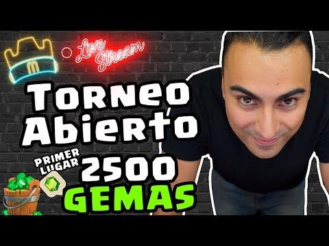 El GRAN TORNEO ABIERTO - PREMIO 2500 GEMAS PRIMER LUGAR #2 - MEMOUNSTRO