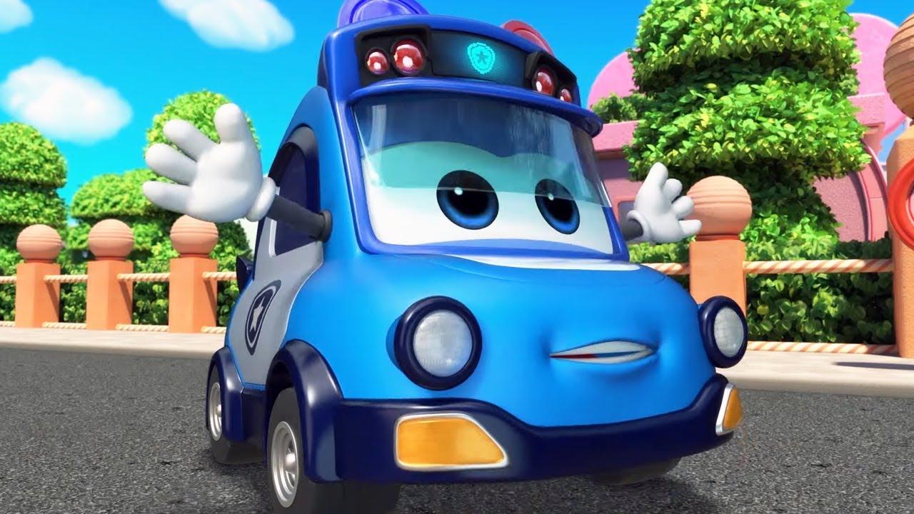 Школьный Автобус Гордон 🚌 Спасение динозавра 🐉 (3 серия 1 сезон) 🚍 Мультфильм для детей