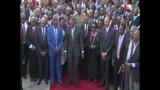Pres. Kenyatta preaches servant leadership in Murang'a