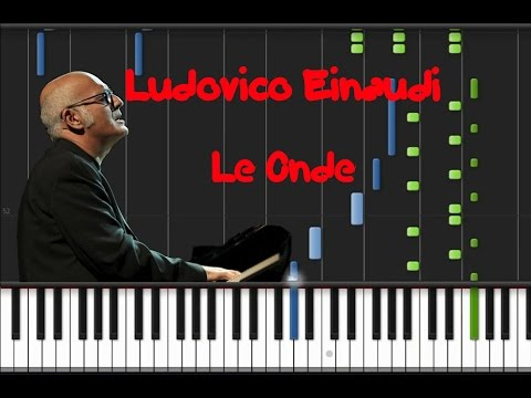Ludovico Einaudi - Le Onde [Synthesia Tutorial]