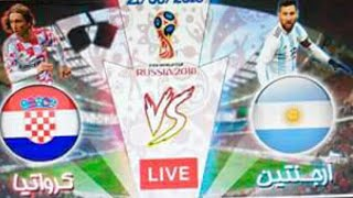 ملخص مباراة الأرجنتين و كرواتيا بتعاليق جوادة بادة