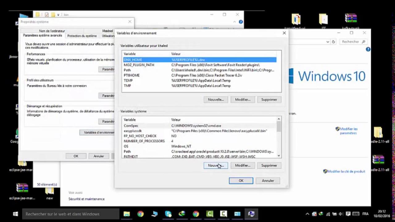 How to set JAVA_HOME on Windows 10 - YouTube