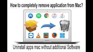 Uninstall Completely Programs On Mac OS X ✅