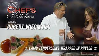 Lamb Tenderloins Wrapped In Phyllo
