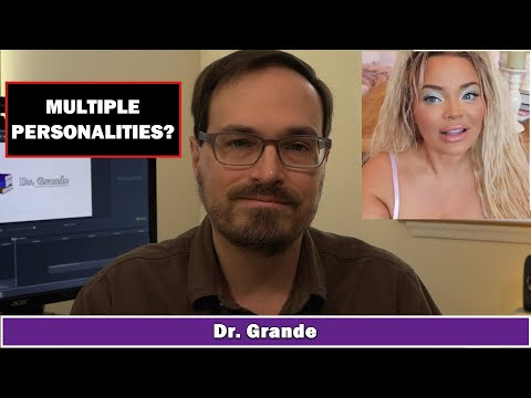 Trisha Paytas Video Critique | Dissociative Identity Disorder And Multiple Personality Disorder