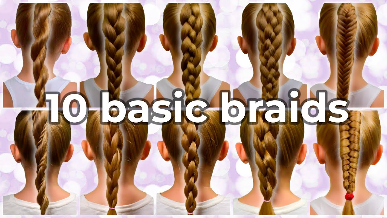 TOP 10 Braided Ponytails | Easy Braided Hairstyles Anyone Can Do!