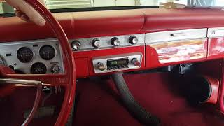 The Retro-sound stereo in mom's 1964 Plymouth Valiant Convertible