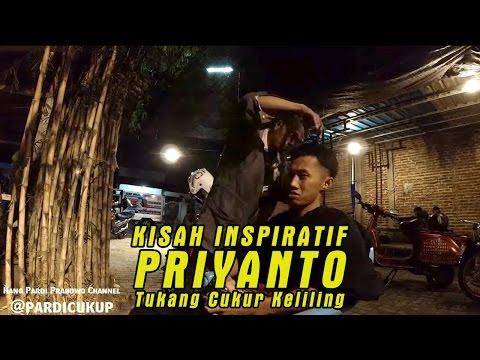 Kisah nekat Priyanto, tukang cukur rambut keliling naik vespa sampai tengah malam