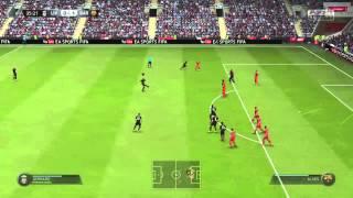 FIFA 15 Steven Gerrard free kick Thumbnail
