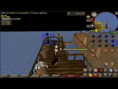 70k/h Crafting Useing charter ships Oldschool Runescape