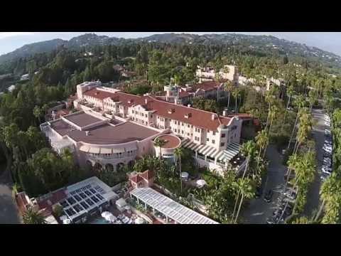 Landing- Drone Beverly Hills