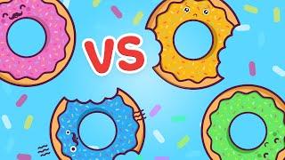 DONUT MESS WITH US - HvW Donut vs. Donut