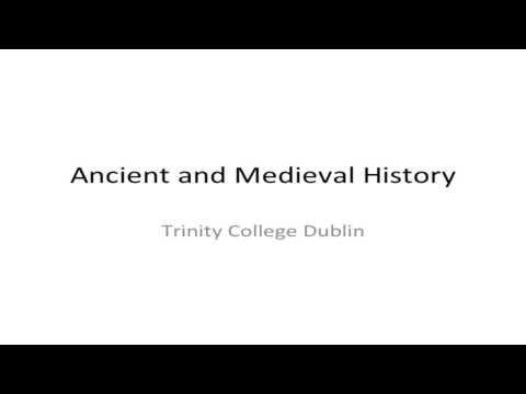 Ancient and Medieval History - Trinity Open Day 2013