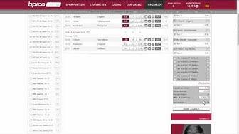 Tipico Systemwette Rechner (Zusammenfassung)