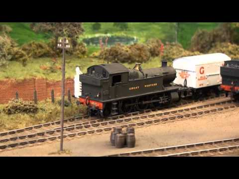 Dartley GWR Model Railway filmed at Romford Show Sat 2nd Oct 2010 copyright PWSeale